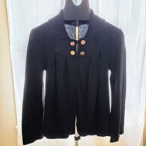 525 America  Cardigan sweater black size S
